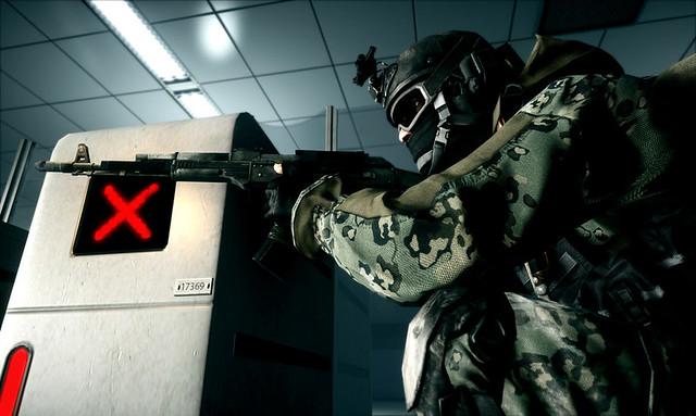 Battlefield 3 - Taking cover
