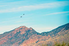 Heritage Flight over Catalinas (Kukui Photography) Tags: davis monthan afb heritage flight practice airplane arizona tucson aircraft davismonthanafb heritageflightpractice