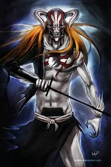 Fear ( (ase he volue)) Tags: anime smile death cool strawberry chad awesome manga battle full gods colored rukia byakuya hollow shado ichigo kenpachi blach renji kurosaki arrancar orihime shinigami bankai shikai toushiro ukitake hichigo grimmjow uliqorra bounts