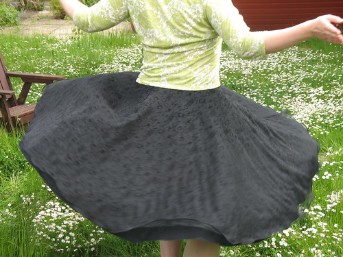 skirt in action