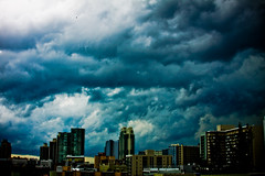 A bit Stormy... (eyecbeauty) Tags: sky storm rain weather clouds miami miamibeach cloudscapes