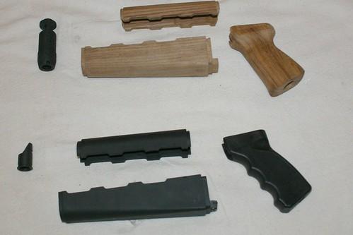 pieces parts