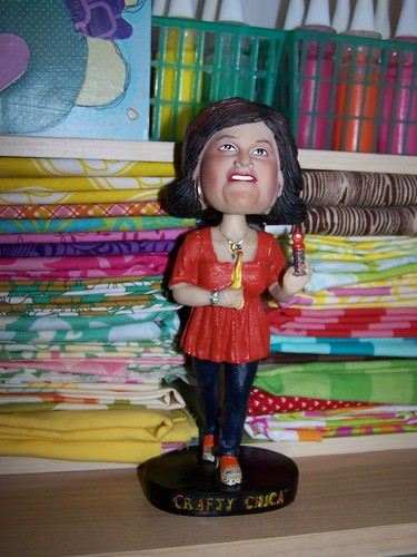 Crafty Chica bobblehead!