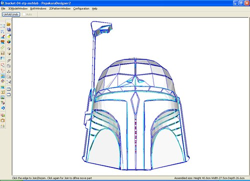 Re: Impertinent bragging =) Interactive Fett's Bucket model =)