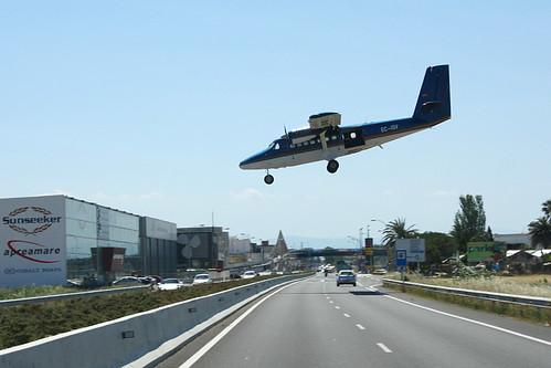 Aterrizando en Empuriabrava