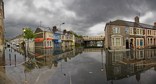 Splott Flood, Cardiff