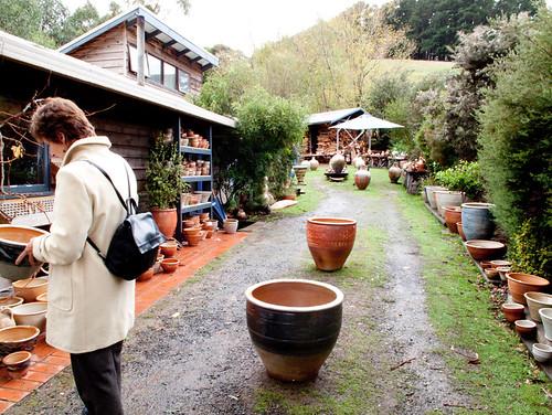 gooseneck pottery