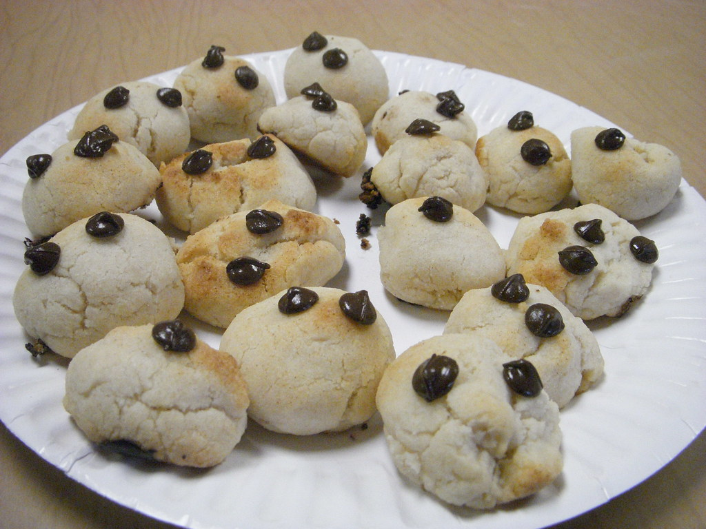 Happy Vegan Carob Chip Cookies
