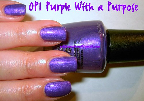 OPI Purple With a Purpose
