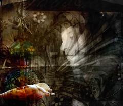a holy moment (Eddi van W.) Tags: light texture love creativity energy handmade digitalart gimp textures creativecommons ritual meditation spirituality spiritual deepness kreativität spiritualität eddi07 graphicmaster