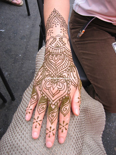 Just for fun bridal hand