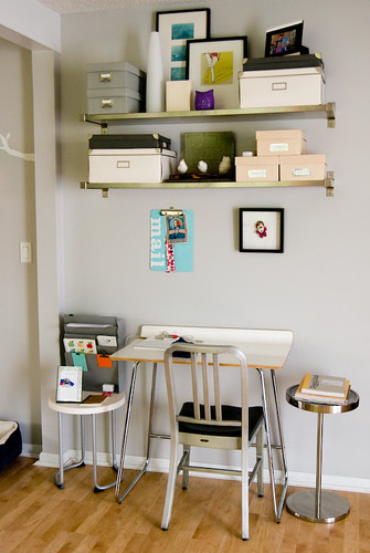 cool home desk