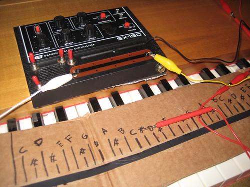 Gakken Synth Keyboard Mod