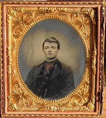 Painted 1/6 Plate Tintype (LJMcK) Tags: vintage painted victorian tintype colored coloured