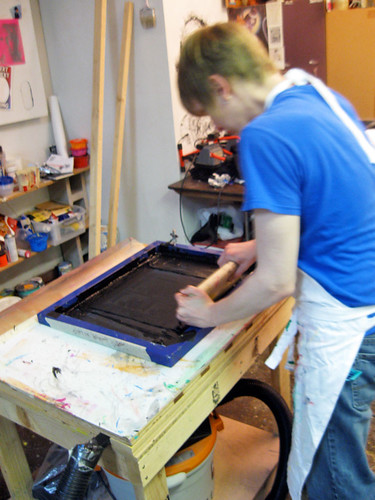Studio Assistant Screenprinting