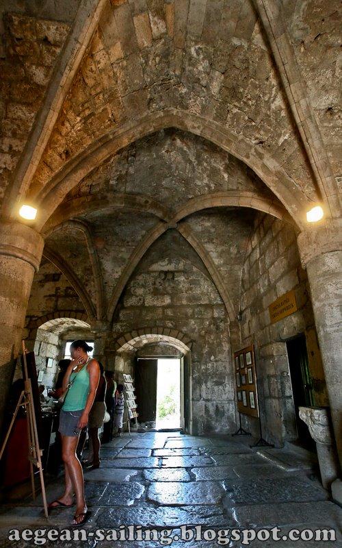 Inside Bodrum Castle Knights Hospitaller