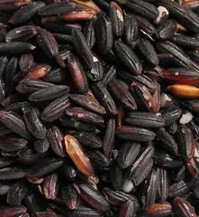 zwarte kleefrijst (rauw)
