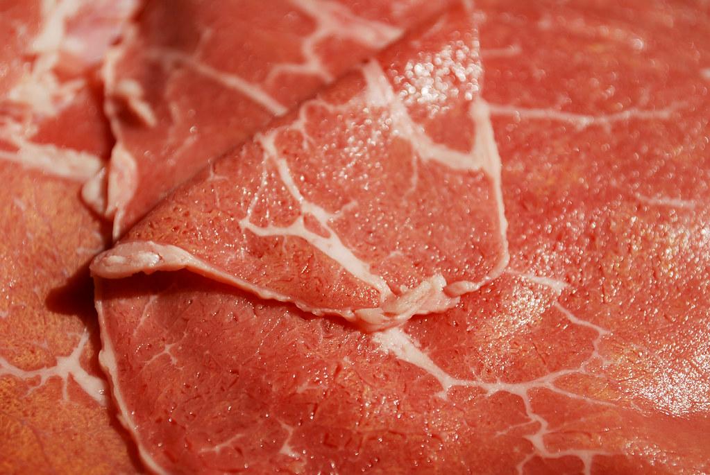 Beef for Sukiyaki