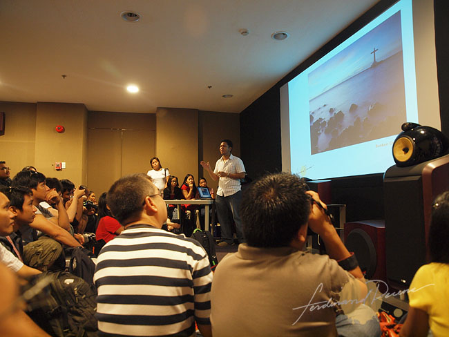 Participants clicking through each slide