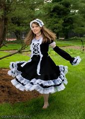 Gothic Lolita - AnimeNEXT 2009 (TheBigTog) Tags: anime costume cosplay manga convention cosplayer 2009 gothiclolita animenext costumer