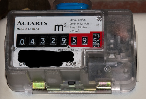 gas meter detail