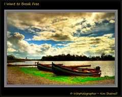 I want to Break Free (Irishphotographer) Tags: ireland sky art beach water river freedom fishing queen leisure kinkade rowingboats iwanttobreakfree lougherne beautifulireland imagesofireland irishphotographer top20worldwide breathtakingphotosofnature beautifulirelandcalander wwwdoublevisionimageswebscom