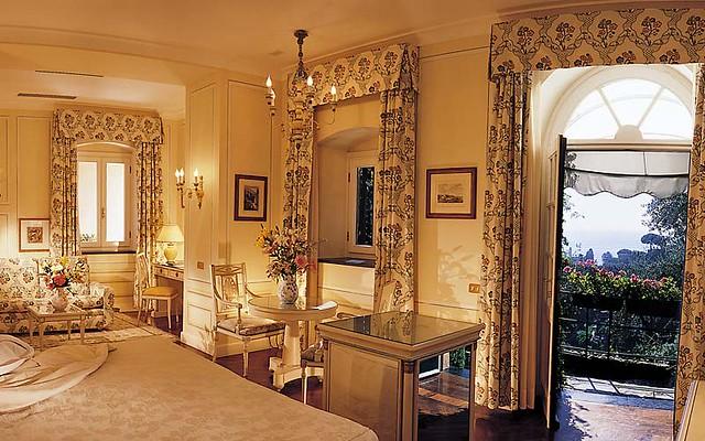 Hotel Splendido, Portofino, Liguria, Italy, Bedroom