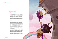 rapunzel (akrapf) Tags: illustration fairytale book vector brothersgrimm akrapf