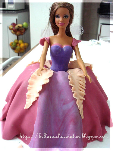 Barbie Cake - Princesa Barbie - Castelo de Diamante