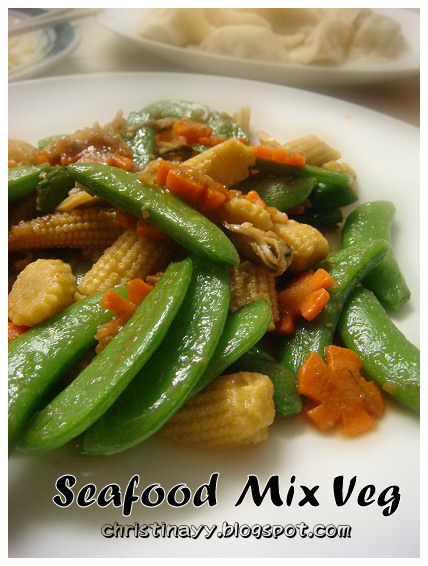 Home-cook: Stir-fry Mix Veggie with Seafood