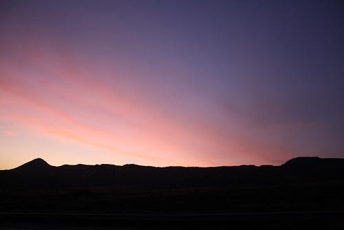 You couldn't dream of a prettier sky.
