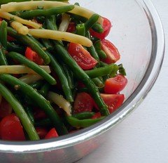 Green Beans & Tomater Salad