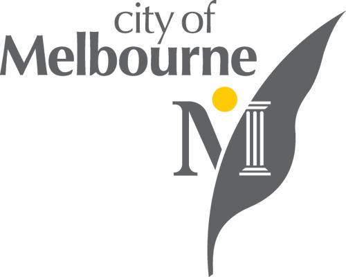 antiguo logo City of Melbourne