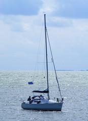 Sailing boat (Fotografie-NL) Tags: holland boat sailing ijsselmeer