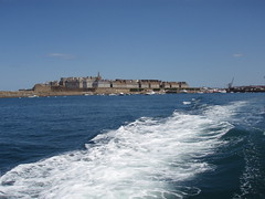 St Malo from the sea