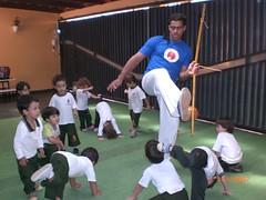 Capoeira (Projeto Criando) Tags: recreação exercícios