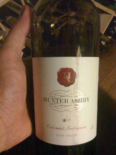 2005 Hunter Ashby Cabernet Sauvignon