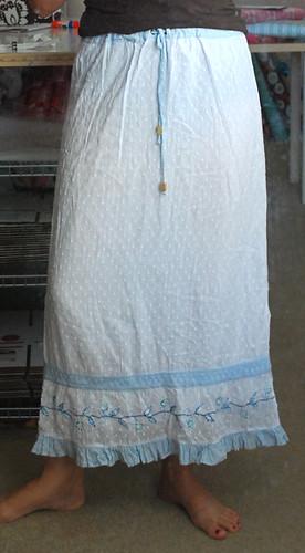 skirt re-fashion before