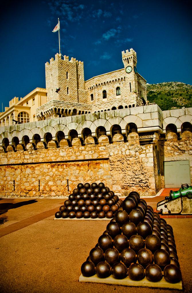 Grimaldi Palace, Monaco