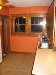 Kitchen done: sink and windows