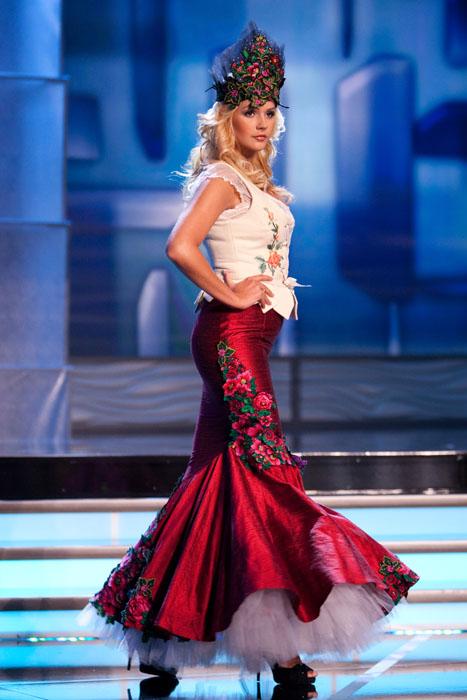 Traje Típico de Miss Polonia