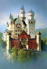 Germany ~ Neuschwanstein (e r j k . a m e r j k a) Tags: mountains alps castle germany deutschland bavaria personal oberbayern collection neuschwanstein item chteau schls fssenallgu norightsassumed