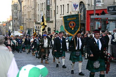 CLAN HENDERSON at The Clan Parade - The Gathering 09