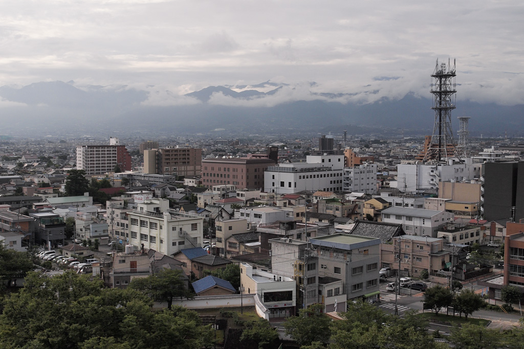 cloudy Kofu City