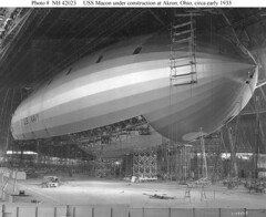 USS Macon Under Construction (lazzo51) Tags: aviation science usnavy blimps airships zeppelins luftschiff dirigibles ussmacon zrs5