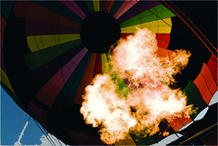 Oz Has Spoken (See Here Now) Tags: hot up fire oz air balloon flickrchallengegroup flickrchallengewinner