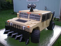 Post-apoc HMMWV Slantback