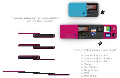 Memory card holder 4