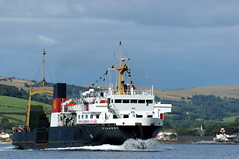Pioneer Largs 2 (md93) Tags: cruise ferry clyde farewell pioneer calmac ferries largs
