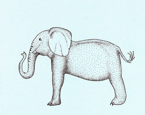 Stipple Elephant